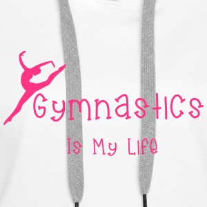 Gymnastics Sweat-shirts - Sweat-shirt à capuche Premium pour femmes