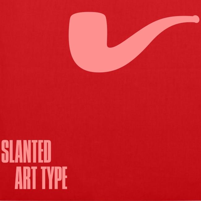 Slanted – Art Type / Red Rose / Totebag
