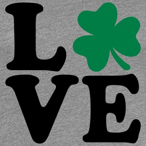 Shamrock love T-Shirts - Frauen Premium T-Shirt