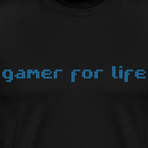 Gamer for life - Men's Premium T-Shirt
