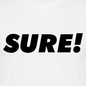 Sure T-shirts - T-shirt herr