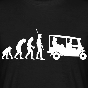 Evolution Tuk Tuk T-shirts - Herre-T-shirt