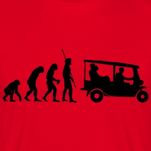 Evolution Tuk Tuk T-skjorter - T-skjorte for menn