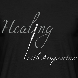 Healing with acupuncture Tee shirts - T-shirt Homme