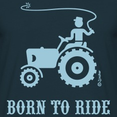 Born To Ride (Tractor) T-Shirt