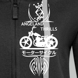 Front Logo Angeland Thrills - Custom Bike Small 2