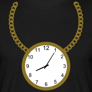 Necklace with clock T-Shirts - Men's T-Shirt