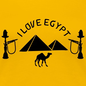 I love Egypt T-Shirts - Women's Premium T-Shirt
