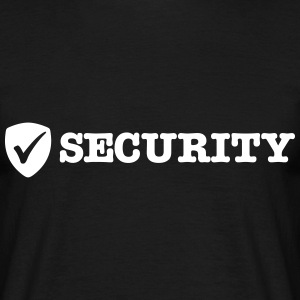 security T-Shirts - Men's T-Shirt