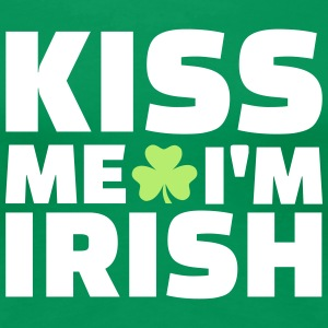 Kiss me I'm Irish T-Shirts - Frauen Premium T-Shirt