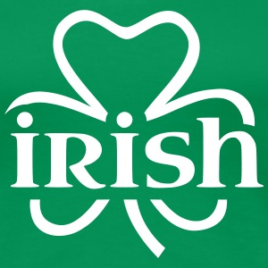 Irish shamrock T-Shirts - Frauen Premium T-Shirt