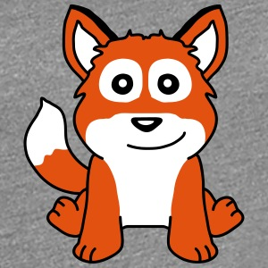 Cute Fox Child T-skjorter - Premium T-skjorte for kvinner