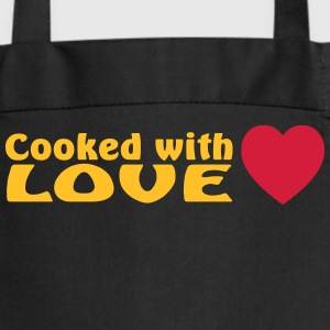 cooked with love  Aprons - Cooking Apron