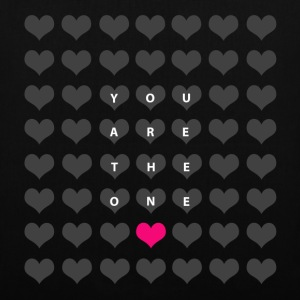 You are the one - valentinsdag Vesker & ryggsekker - Stoffveske
