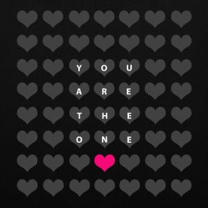 You are the one - valentine's day Bags & backpacks - Tote Bag
