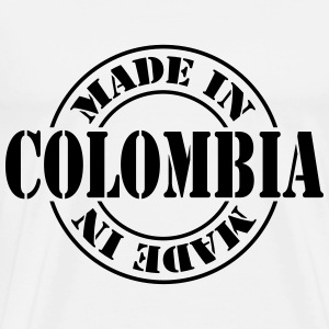 made_in_colombia_m1 T-Shirts - Männer Premium T-Shirt