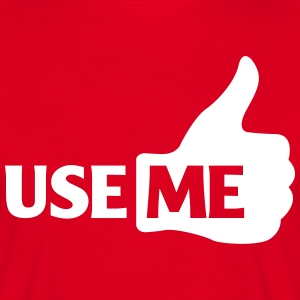 use me with like thumbs  T-Shirts - Men's T-Shirt