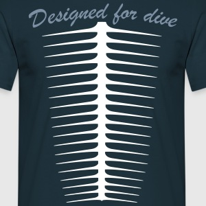 Designed for dive Tee shirts - T-shirt Homme