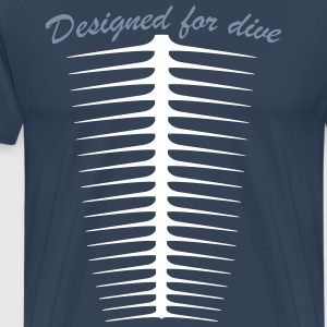Designed for dive Tee shirts - T-shirt Premium Homme