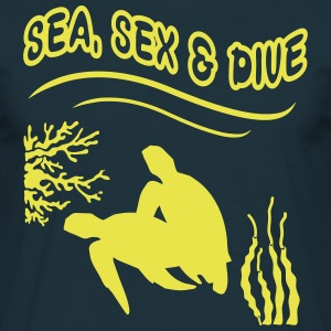 sea sex & dive Tee shirts - T-shirt Homme