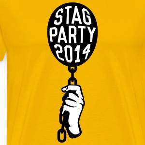 Stag Party 2014 T-shirts - Premium-T-shirt herr