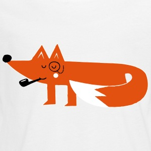 Funny swag hipster cartoon fox Long Sleeve Shirts - Teenagers' Premium Longsleeve Shirt