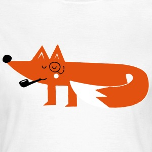 Funny swag hipster cartoon fox T-Shirts - Women's T-Shirt
