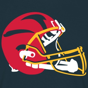 football helmet T-Shirts - Men's T-Shirt
