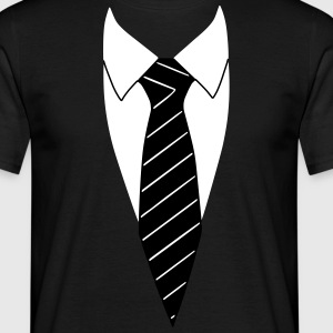 Suit / Necktie T-Shirts - Men's T-Shirt