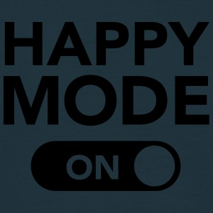 Happy Mode (on) T-shirts - Mannen T-shirt