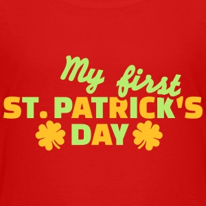 My first St. Patrick's day T-Shirts - Kinder Premium T-Shirt