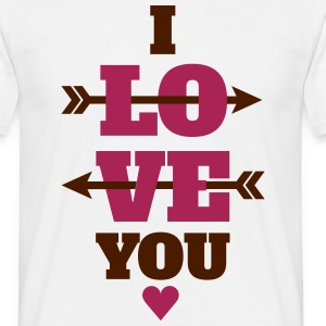 I love you valentines day, love T-Shirts - Men's T-Shirt