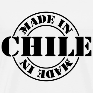 made_in_chile_m1 T-shirts - Herre premium T-shirt