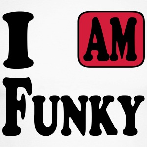 I am Funky Tee shirts manches longues - T-shirt baseball manches longues Homme