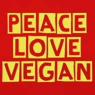 ~ peace love vegan