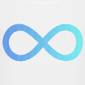 infinity from waves and sea Shirts - Kids' Premium T-Shirt
