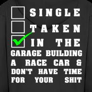 Motiv ~ Building a Racecar schwarz