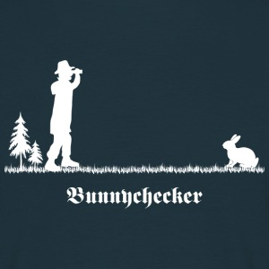 bunnychecker bunny checker hase jäger cool party T-Shirts - Männer T-Shirt