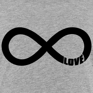 infinite love - valentine Shirts - Kids' Premium T-Shirt