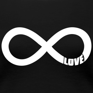 infinite love - liebe T-Shirts - Frauen Premium T-Shirt