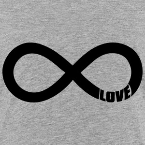 infinite love - valentine Shirts - Teenage Premium T-Shirt