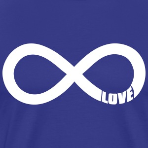 infinite love - valentine T-Shirts - Men's Premium T-Shirt