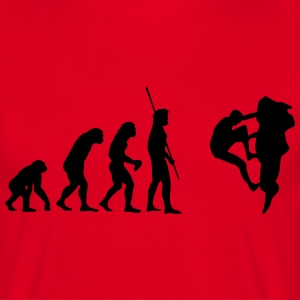 Evolution Climbing  T-Shirts - Men's T-Shirt