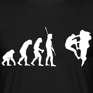 Evolution Klatring  T-shirts - Herre-T-shirt