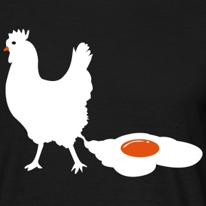 Rooster  T-shirts - T-shirt herr