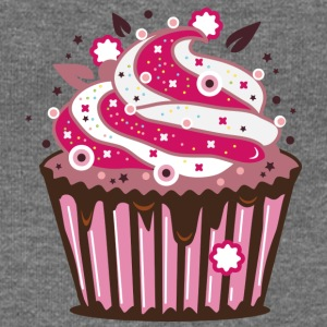 A cupcake with frosting Hoodies & Sweatshirts - Women's Boat Neck Long Sleeve Top