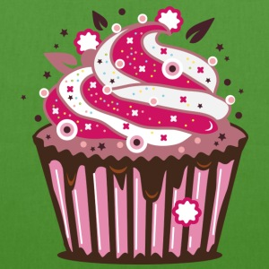 A cupcake with frosting Bags & backpacks - EarthPositive Tote Bag