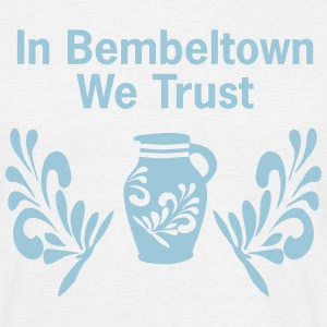 In Bembeltown we Trust | Frankfurt Souvenirs - Männer T-Shirt