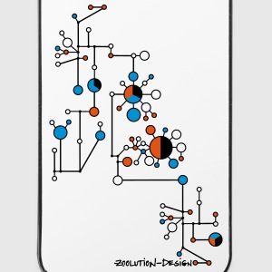 Haplotype Network ZD - iPhone 4/4s Hard Case