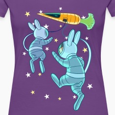 Rabbits In Space T-Shirts